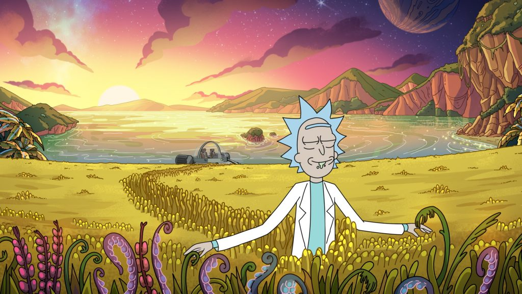 Rick and Morty are available on platforms like Netflix