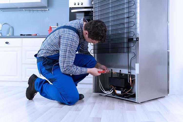 refrigerator repair service.