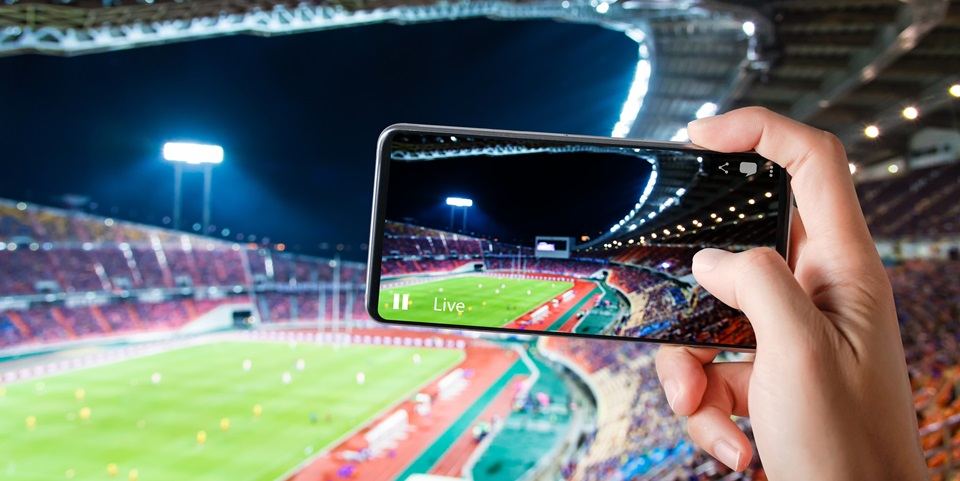 Live Game in Sporting Events