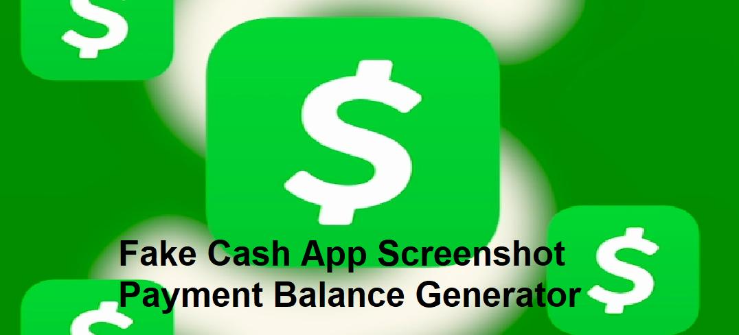 fake cash app balance screenshot issue